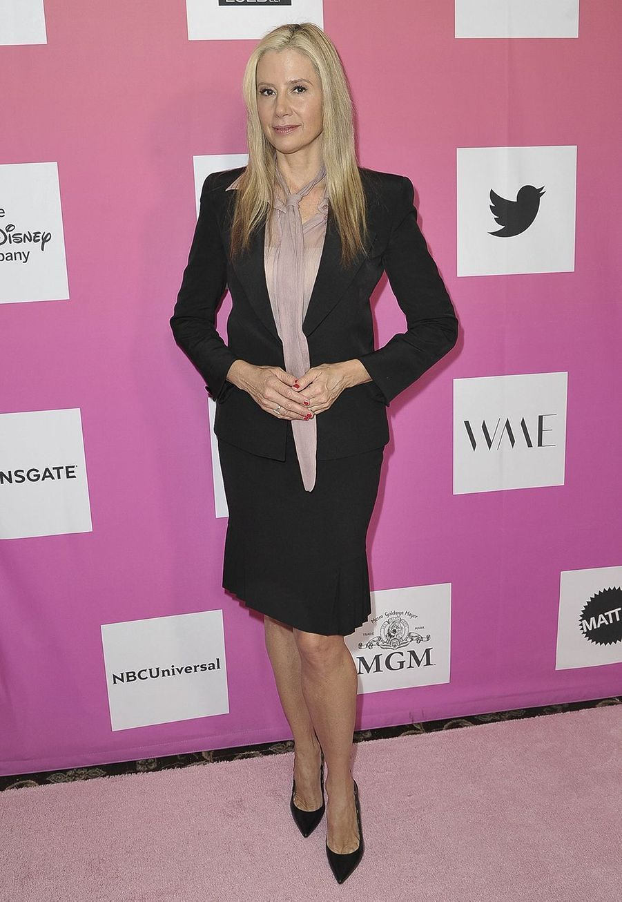 Mira Sorvino au sommet «Power Women» organisé par The Wrap à Santa Monica le 25 octobre 2019