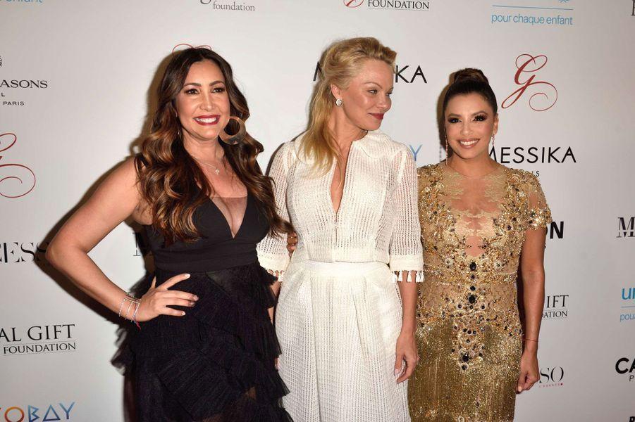 Maria Bravo, Pamela Anderson et Eva Longoria