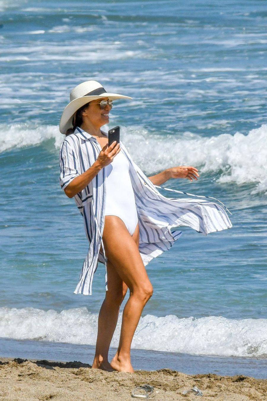 Eva Longoria à Marbella, le 9 juillet 2019