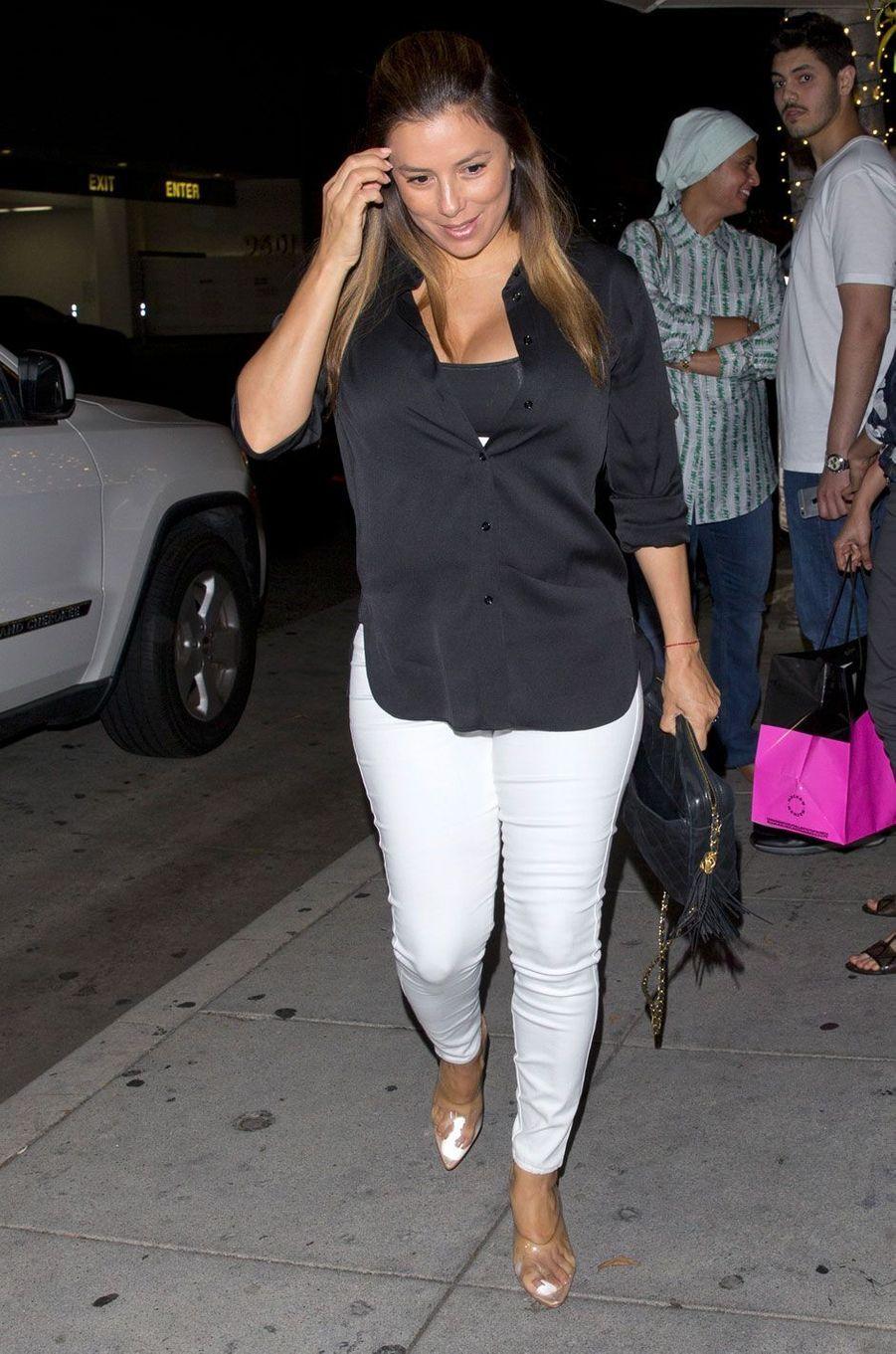 Eva Longoria à Los Angeles le 12 août 2018