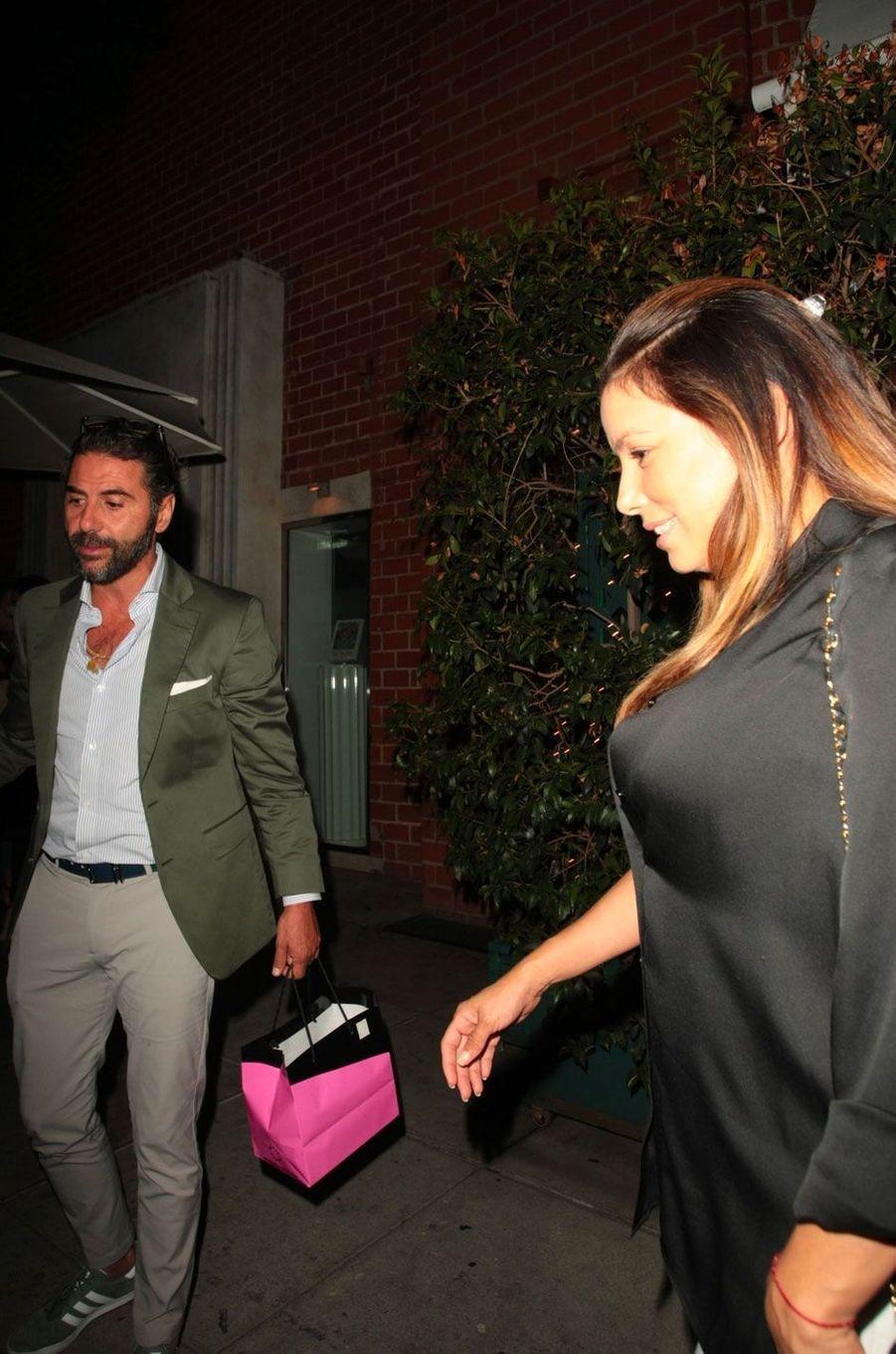 Eva Longoria et José Baston à Los Angeles le 12 août 2018