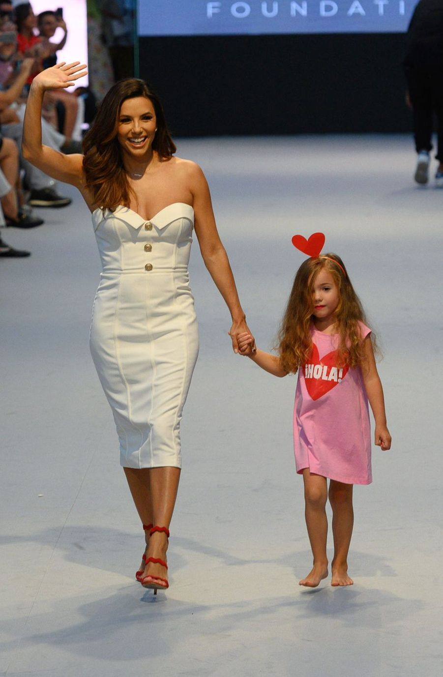Eva Longoria au Marbella Fashion Show, le 11 juillet 2019