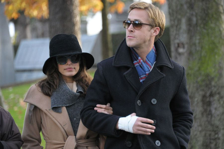 Ryan Gosling et Eva Mendes se sont unis en secret