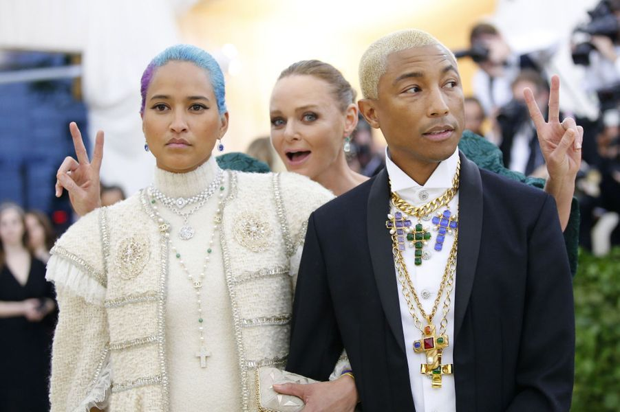 Pharrell Williams et son épouse