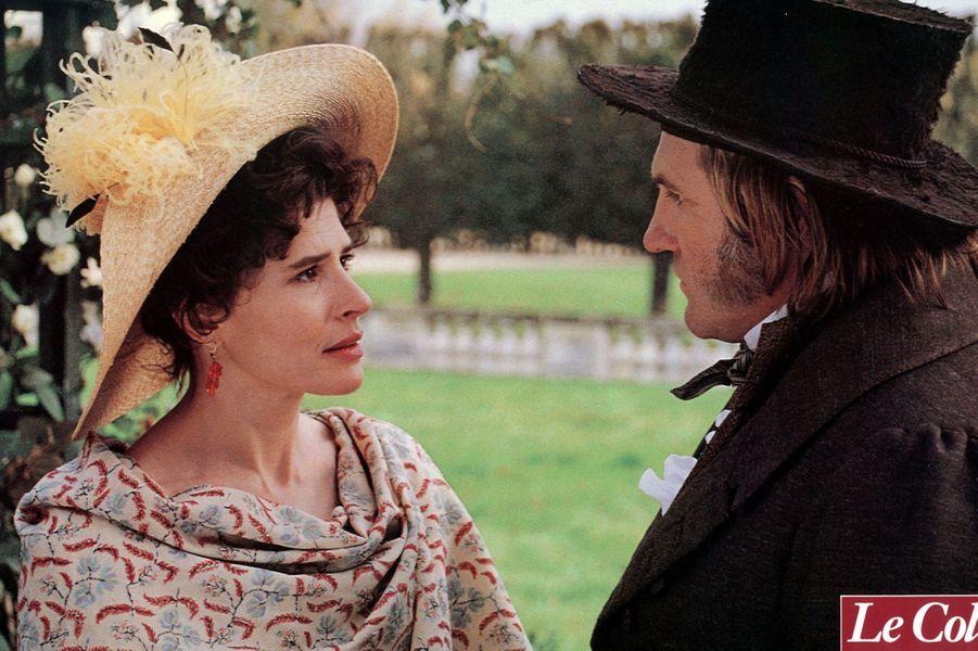 """Fanny Ardant et Gérard Depardieu dans """"Le Colonel Chabert"""" en 1994."""