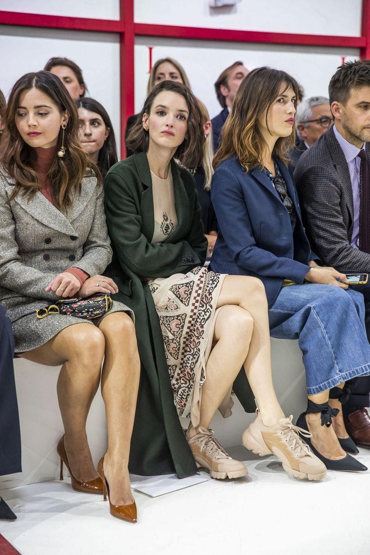 Charlotte Le Bon lors du défilé Christian Dior à Paris, le 26 février 2019
