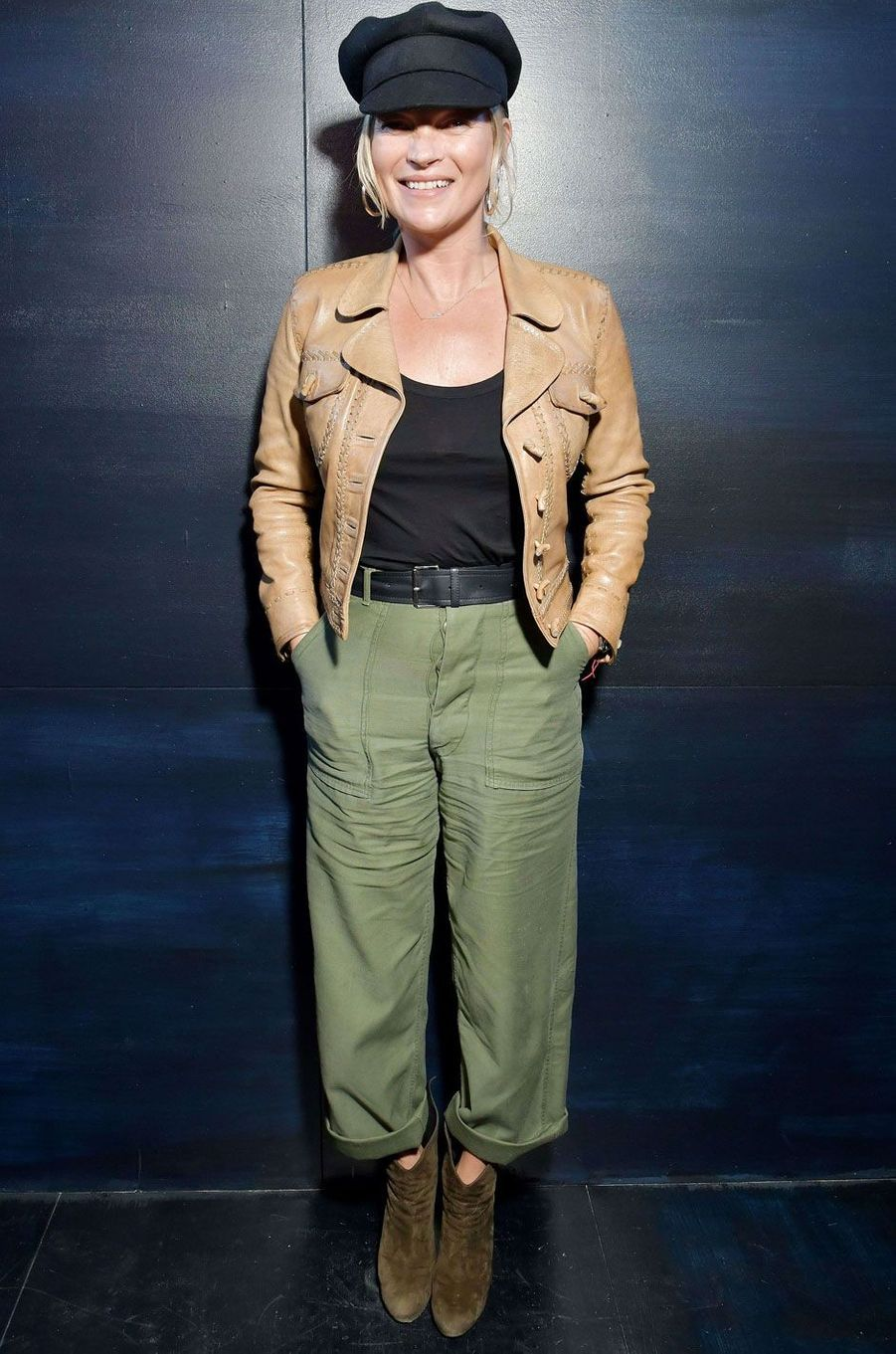 Kate Moss au défilé Christian Dior.
