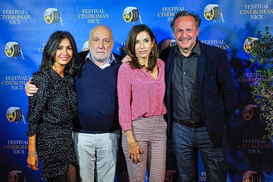 Nathalie Benoin, François Berleand, Aure Atika et le réalisateur Arnaud Viard.