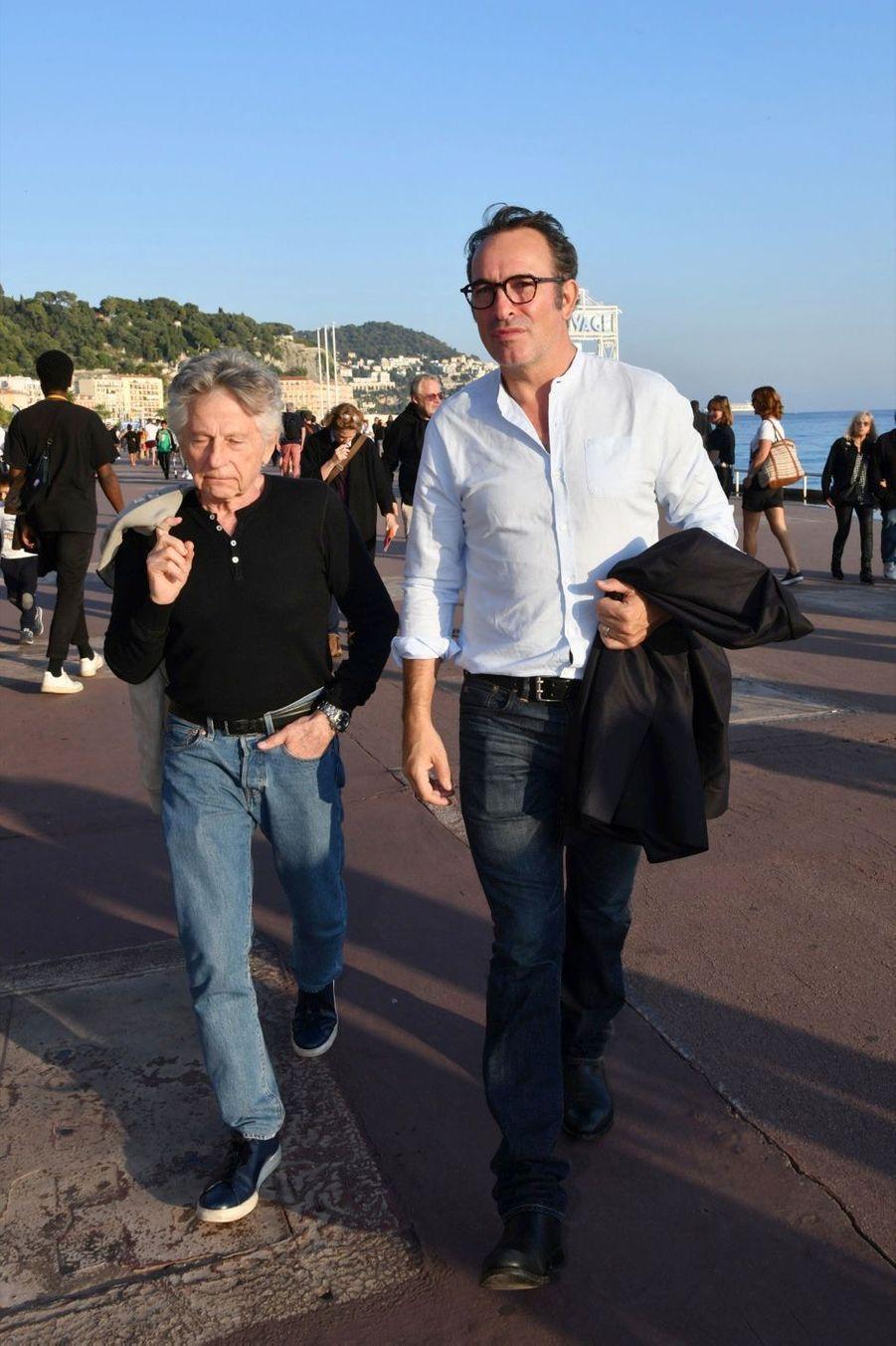 Roman Polanski et Jean Dujardin.