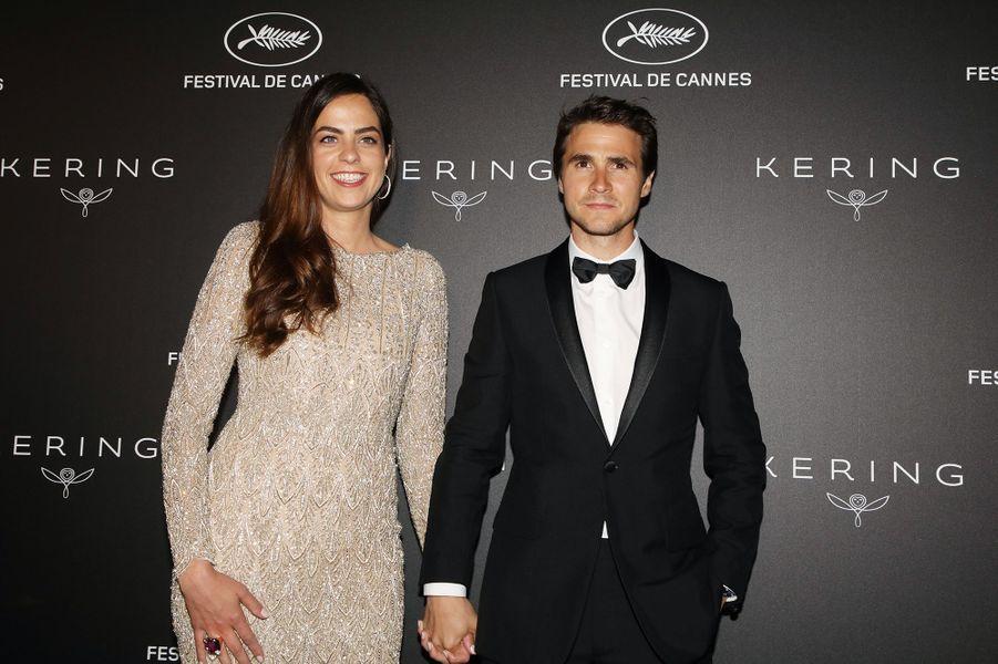 Anouchka Delon et Julien Dereims au Festival de Cannes 2019