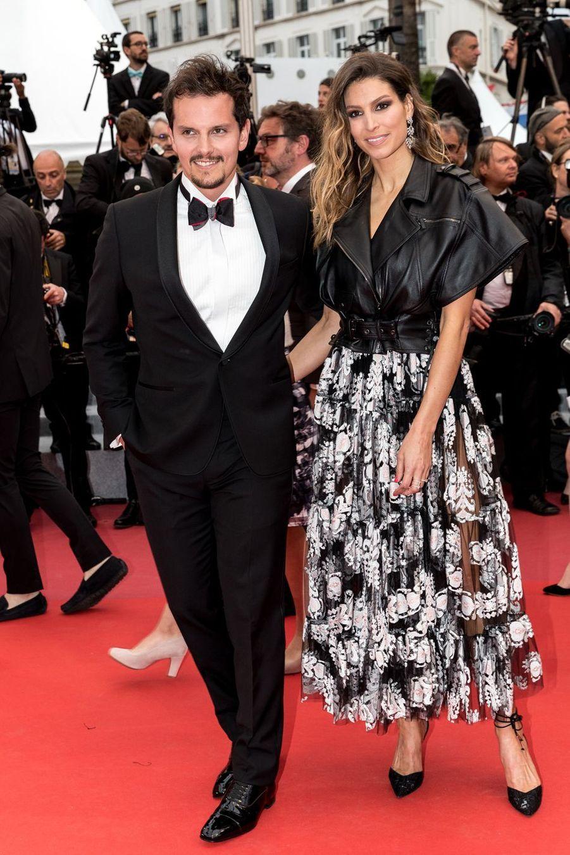 Laury Thilleman et Juan Arbelaez auFestival de Cannes 2019.
