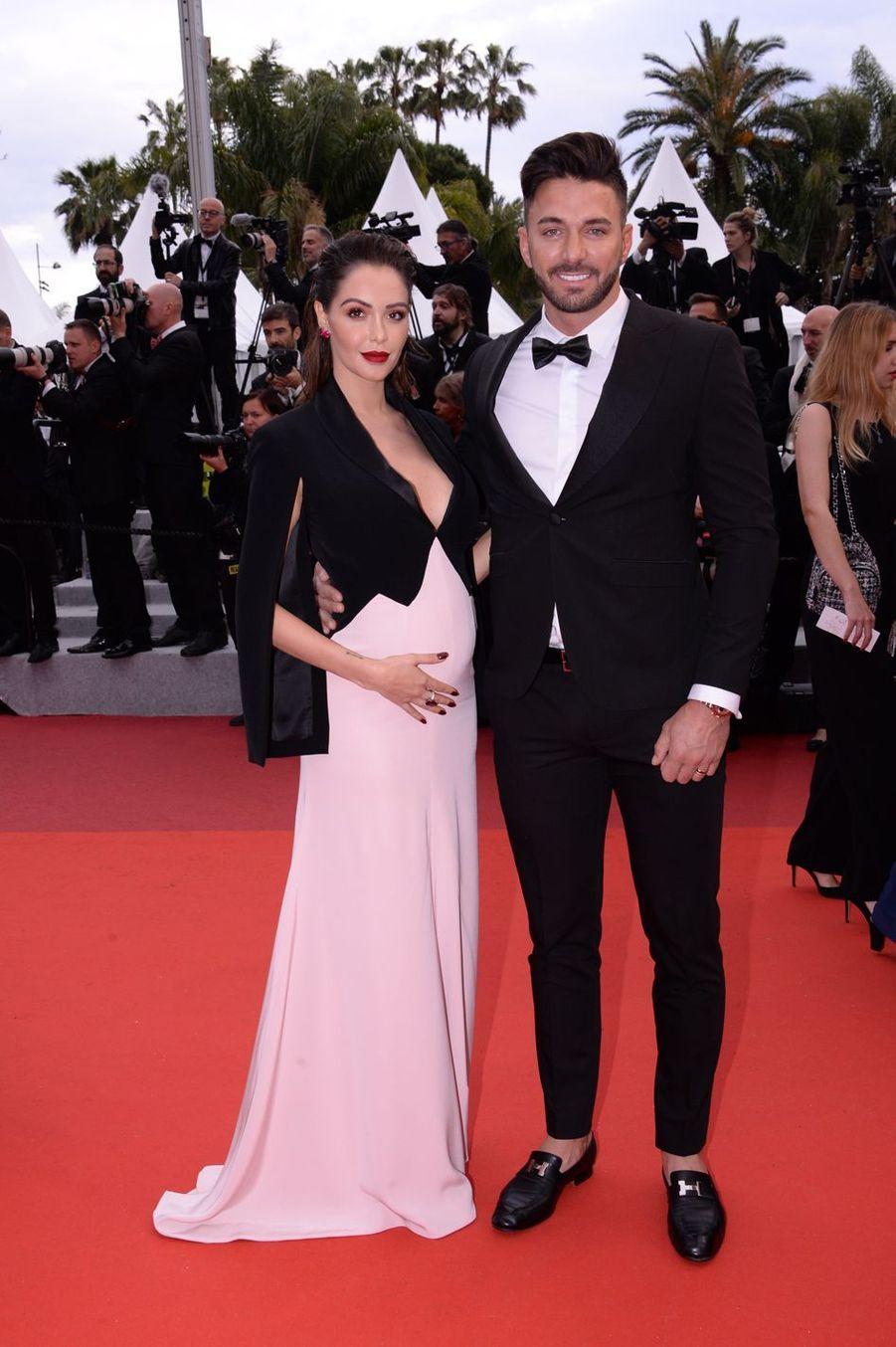 Nabilla Benattia et Thomas Vergara auFestival de Cannes 2019.