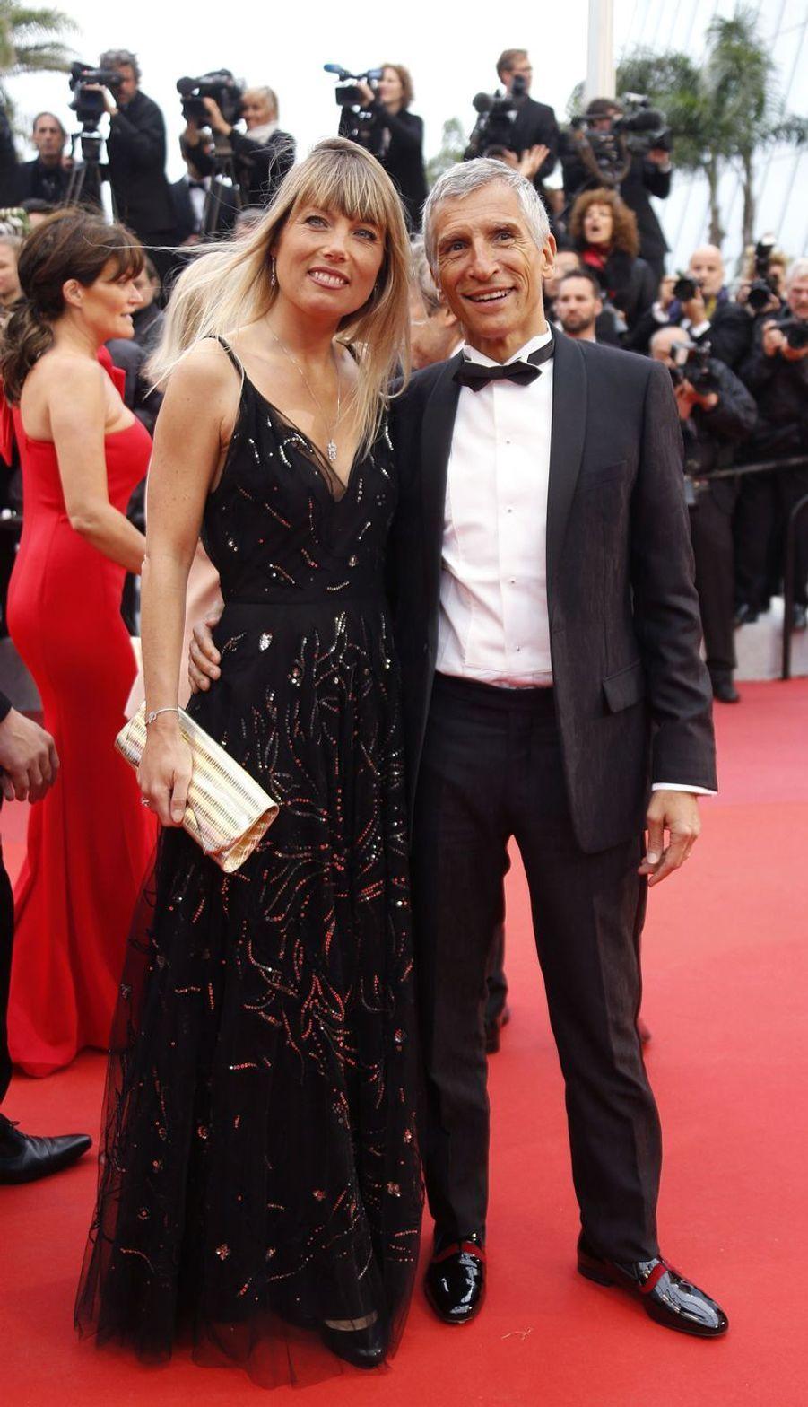 Nagui et Mélanie Page auFestival de Cannes 2019