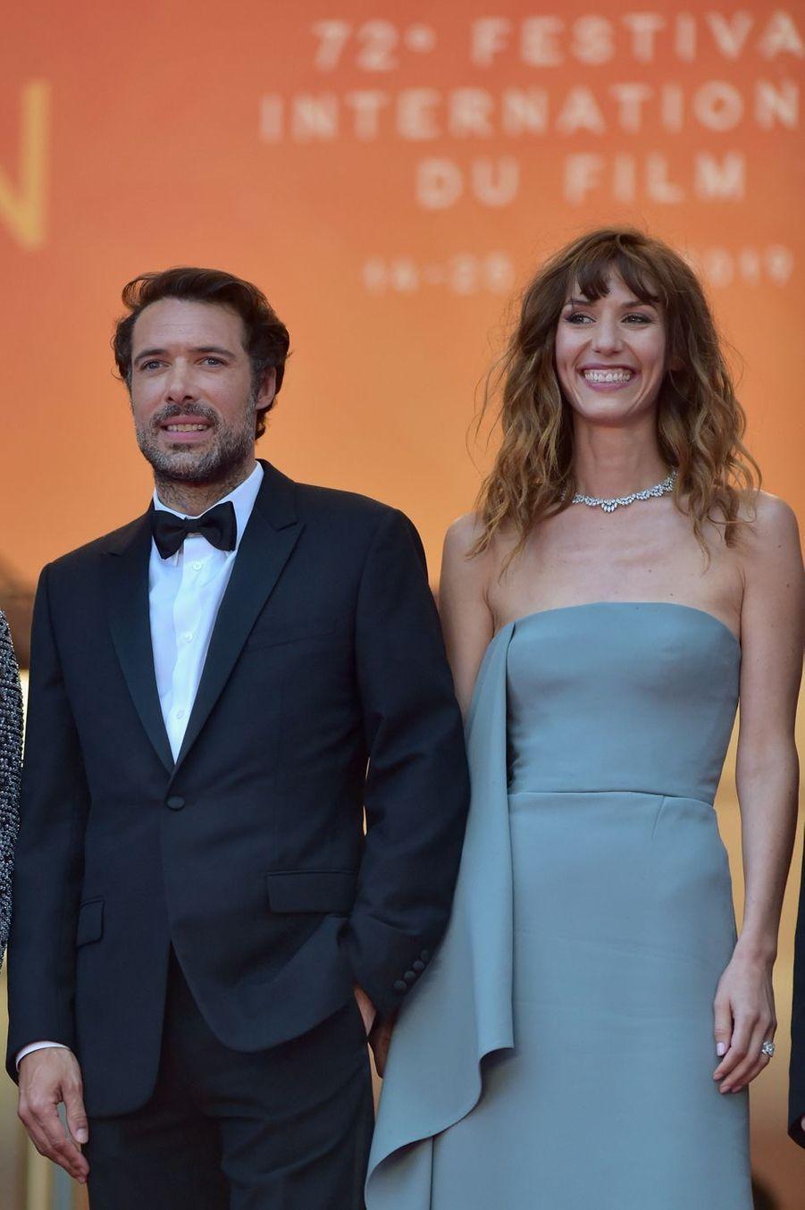 Nicolas Bedos et Doria Tillier au Festival de Cannes 2019.