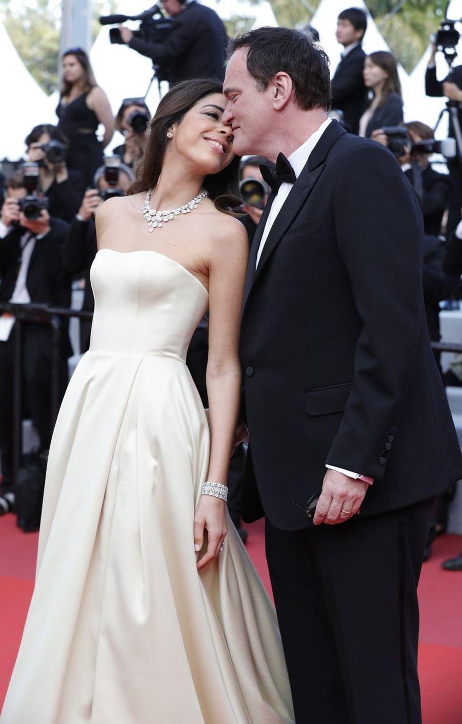 Quentin Tarantino et Daniella Pick au Festival de Cannes 2019