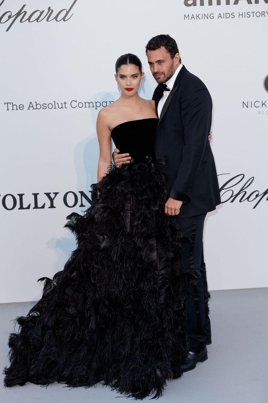 Sara Sampaio et Olivier Ripley auFestival de Cannes 2019.