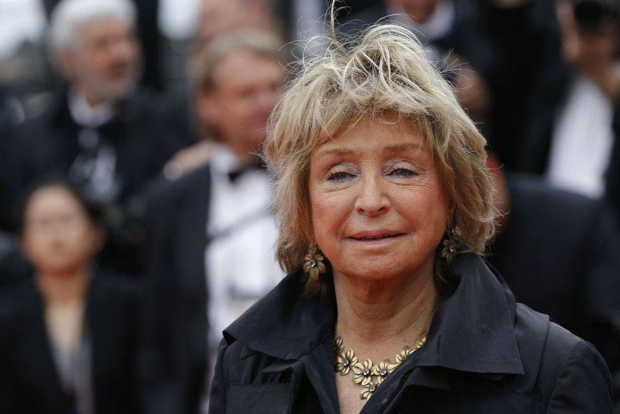 Danièle Thompsonlors de la montée des marches du film «The Dead Don't Die» lors du 72e Festival de Cannes le 14 mai 2019