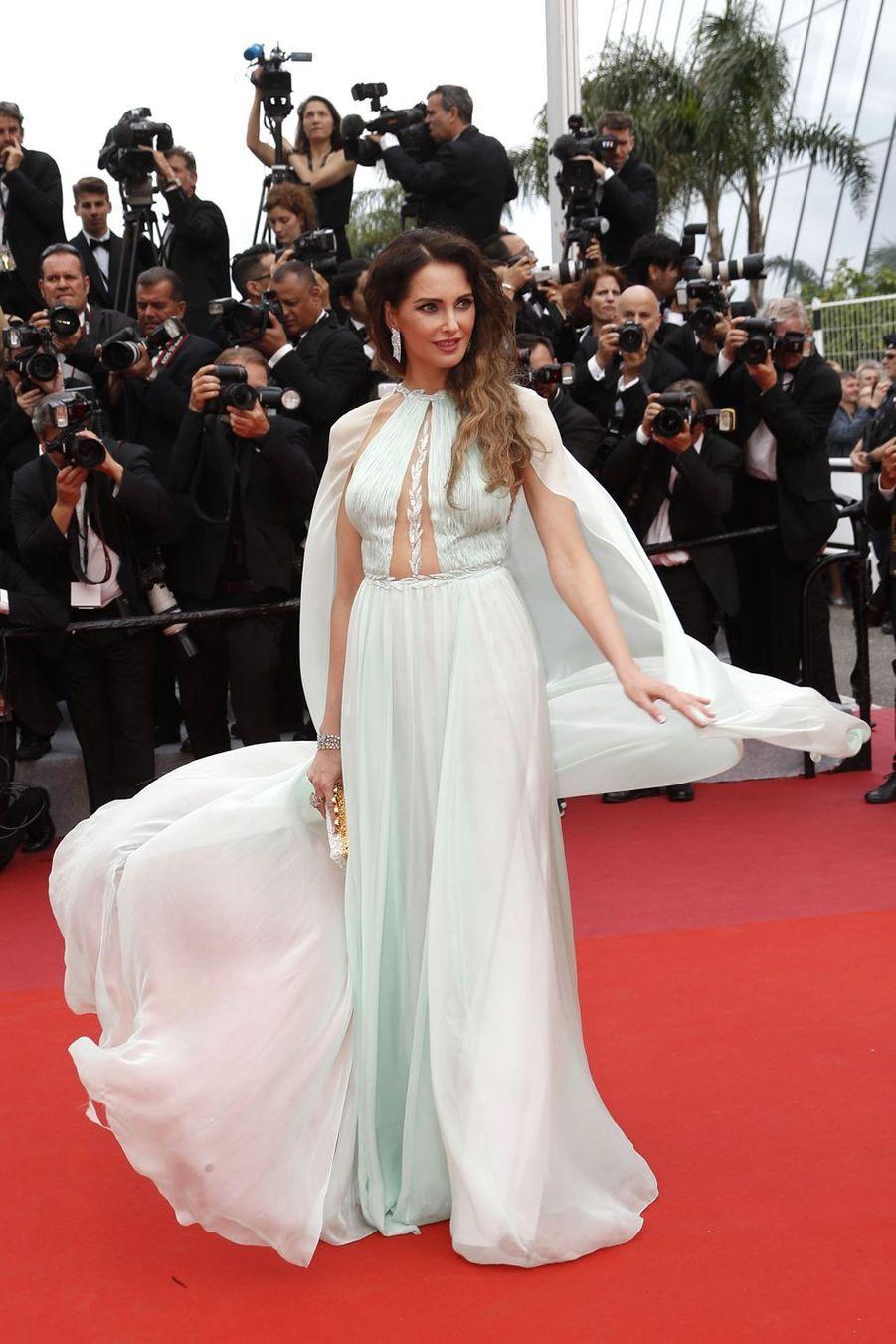 Frédérique Bellors de la montée des marches du film «The Dead Don't Die» lors du 72e Festival de Cannes le 14 mai 2019