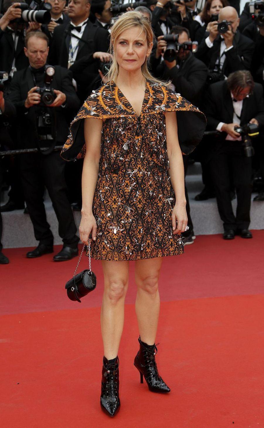 Marina Foïslors de la montée des marches du film «The Dead Don't Die» lors du 72e Festival de Cannes le 14 mai 2019