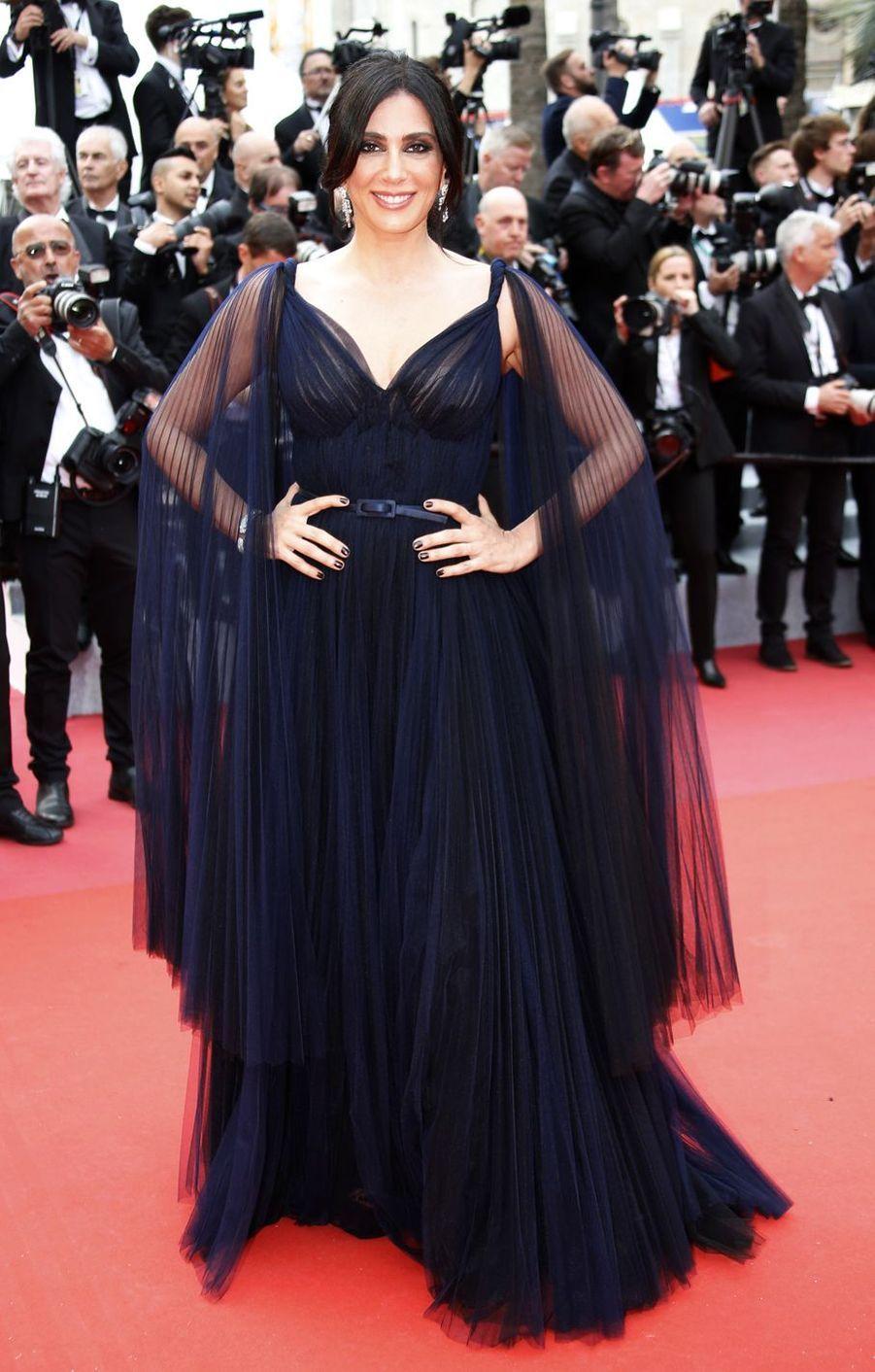 Nadine Labakilors de la montée des marches du film «The Dead Don't Die» lors du 72e Festival de Cannes le 14 mai 2019