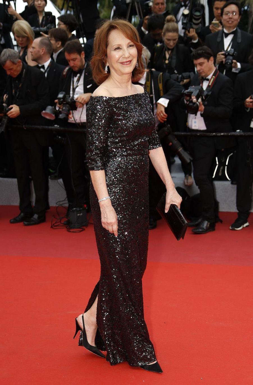 Nathalie Bayelors de la montée des marches du film «The Dead Don't Die» lors du 72e Festival de Cannes le 14 mai 2019