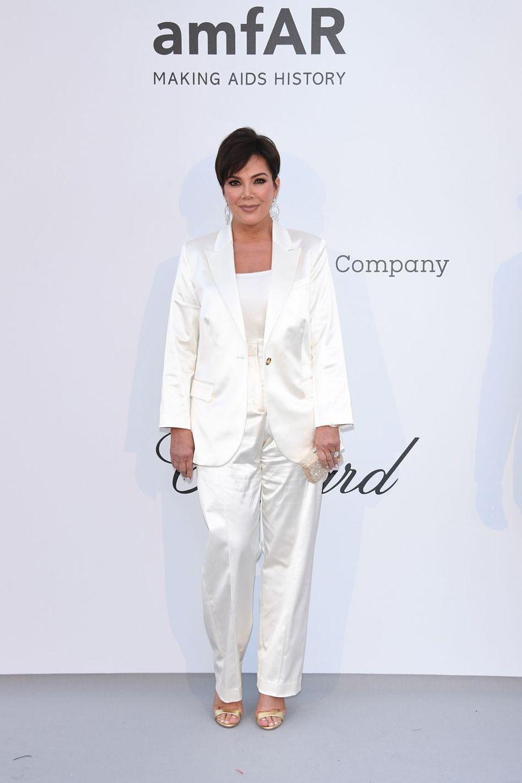 Kris Jennerau gala de l'amfAR à Antibes en marge du Festival de Cannes le 23 mai 2019