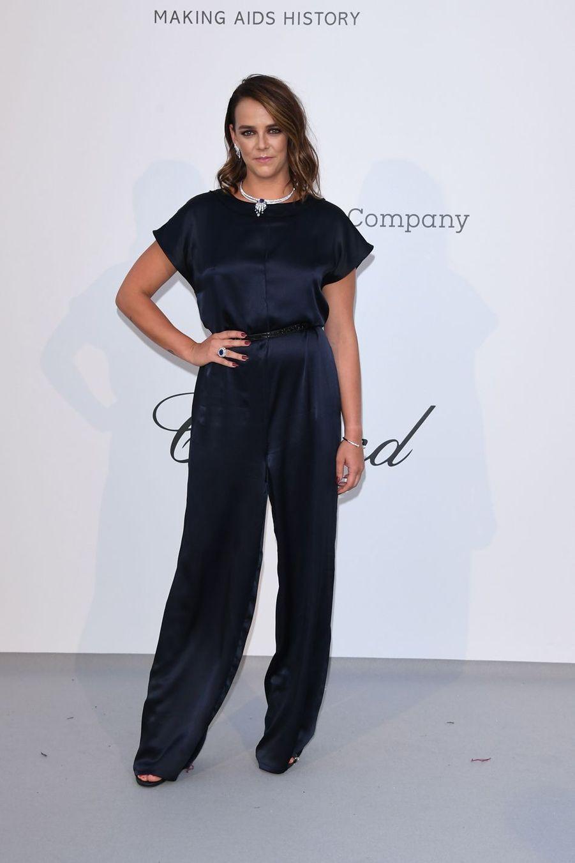 Pauline Ducruetau gala de l'amfAR à Antibes en marge du Festival de Cannes le 23 mai 2019