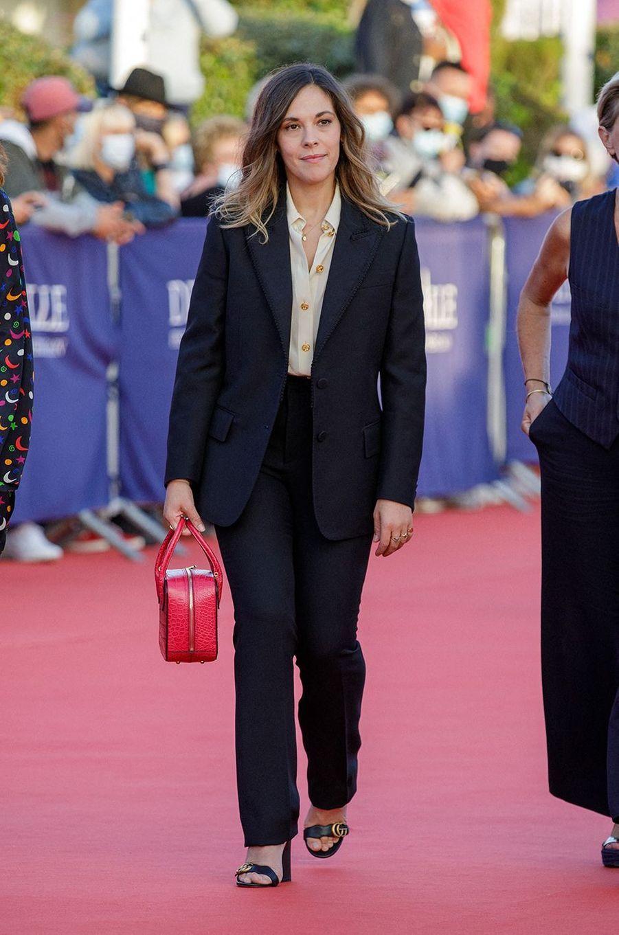 Alysson Paradisà l'avant-première du film «Les Deux Alfred» lors du 46ème Festival du cinéma Américain de Deauville, le 6 septembre 2020