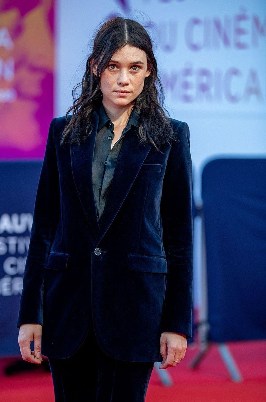 Astrid Bergès-Frisbeyà l'avant-première du film«The Professor & The Bad Man» lors du 46ème Festival du cinéma américain de Deauville le 5 septembre 2020