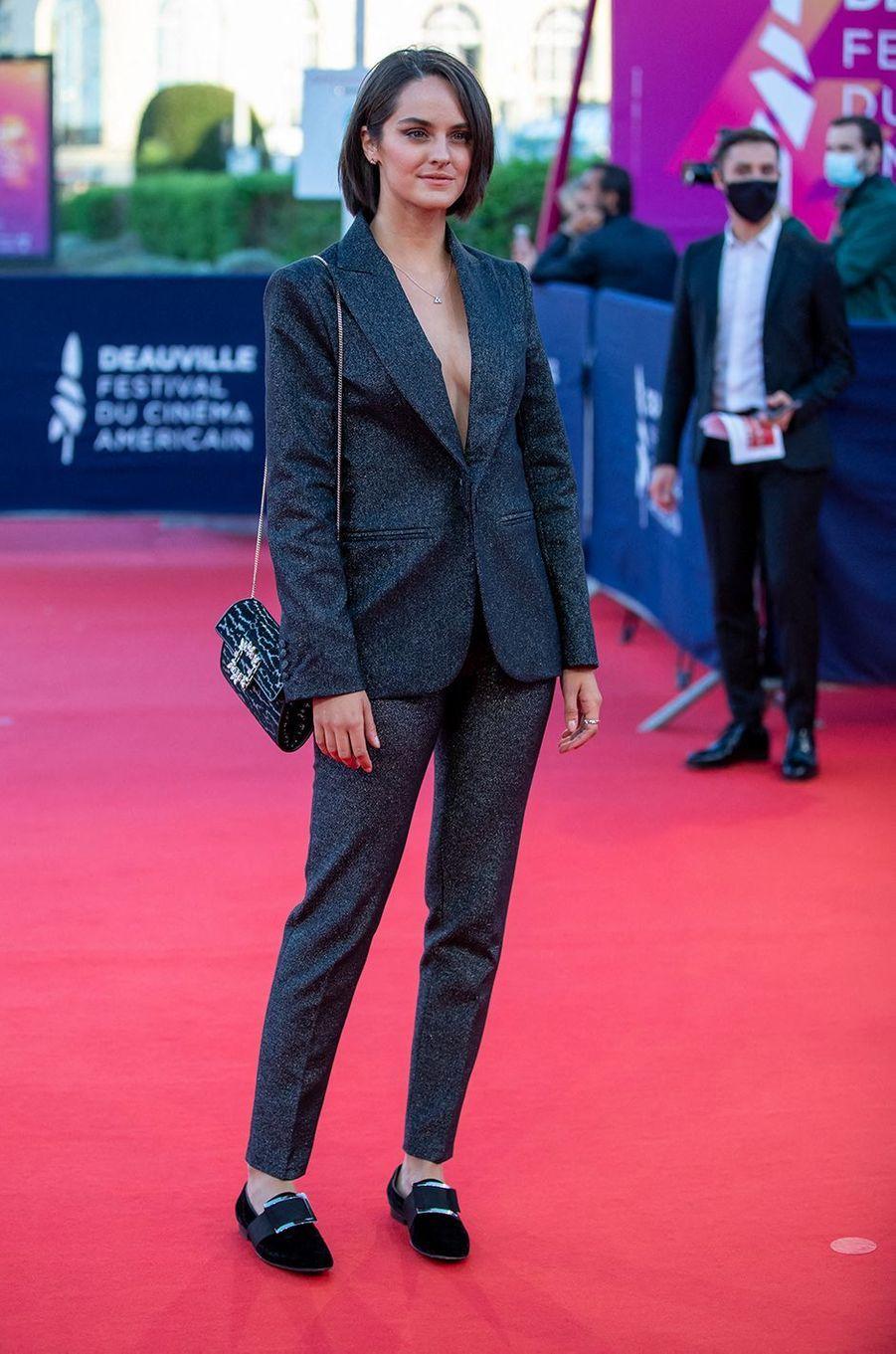 Noémie Merlantà l'avant-première du film«The Professor & The Bad Man» lors du 46ème Festival du cinéma américain de Deauville le 5 septembre 2020