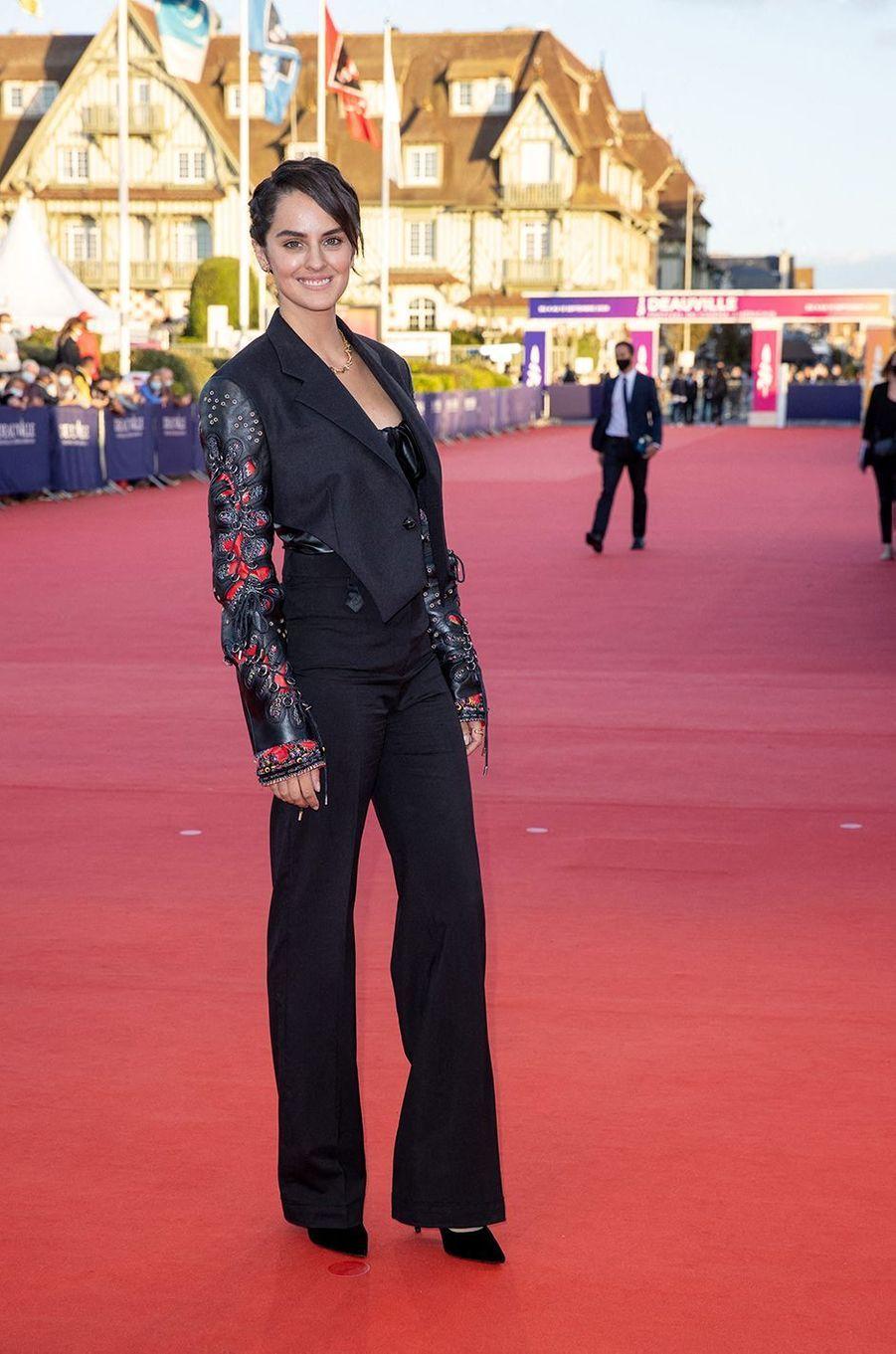 Noémie Merlantà l'avant-première du film «Les Deux Alfred» lors du 46ème Festival du cinéma Américain de Deauville, le 6 septembre 2020