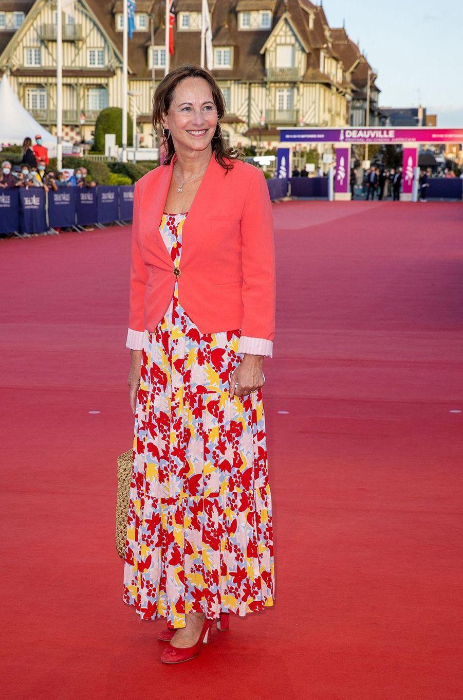 Ségolène Royalà l'avant-première du film «Les Deux Alfred» lors du 46ème Festival du cinéma Américain de Deauville, le 6 septembre 2020