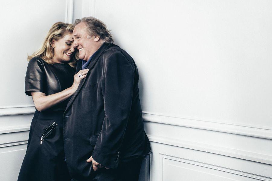 Leur amitié dure depuis leur première rencontre cinématographique. C'était en 1980 pour «Le dernier métro», de François Truffaut.