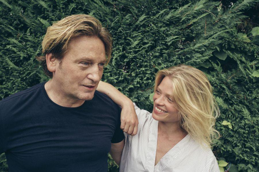 Benoît Magimel et Mélanie Thierry, héroïne d'«Au revoir là-haut», d'Albert Dupontel.