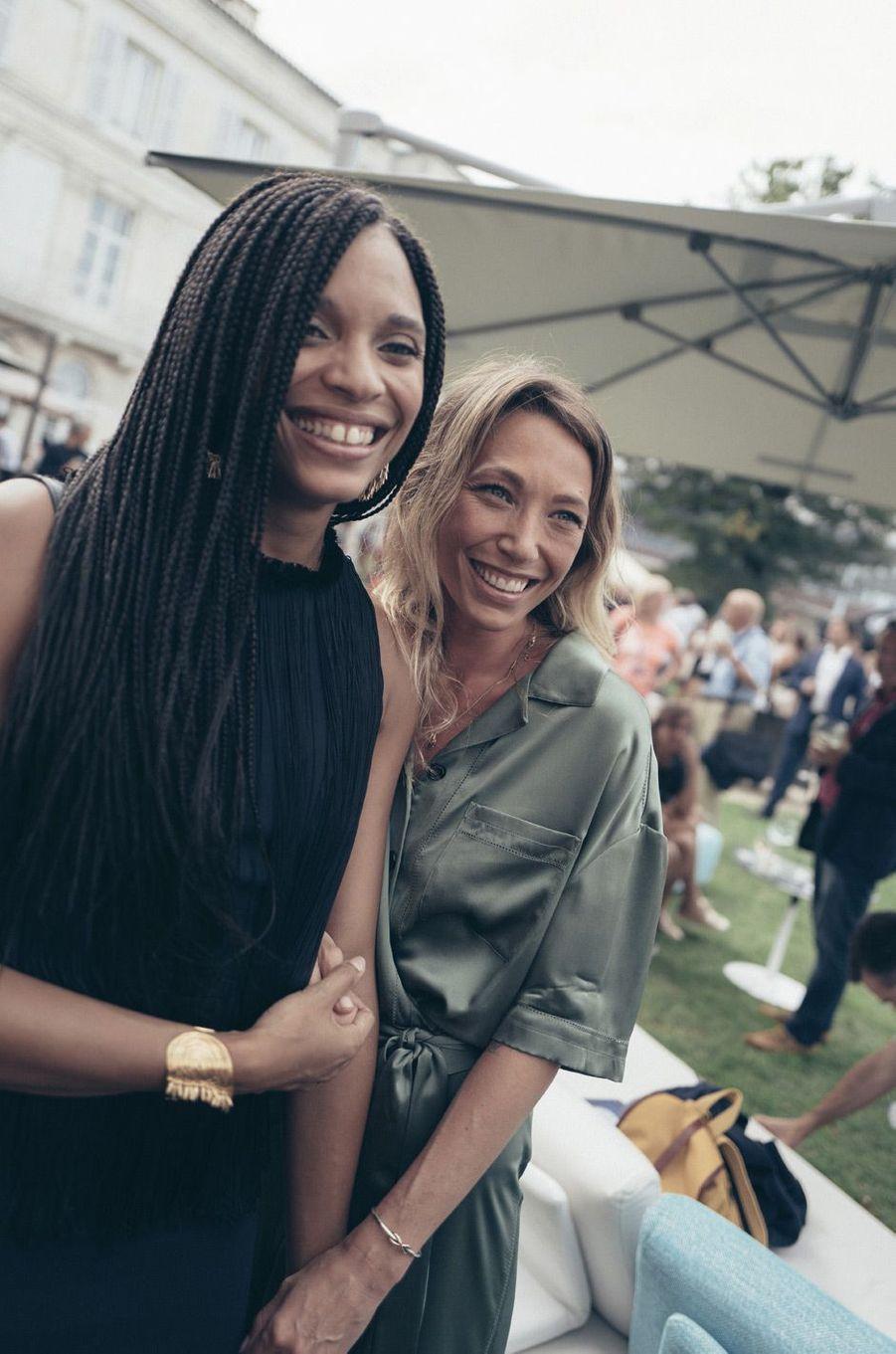Stéfi Celma et Laura Smet, membres du jury.