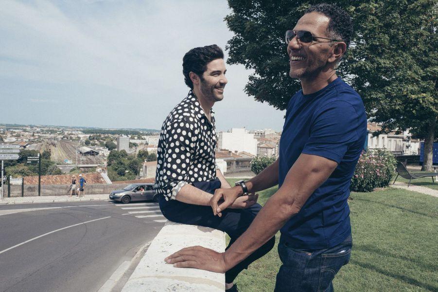Tahar Rahim et Roschdy Zem, les vedettes du «Prix du succès», en salle le 30 août.