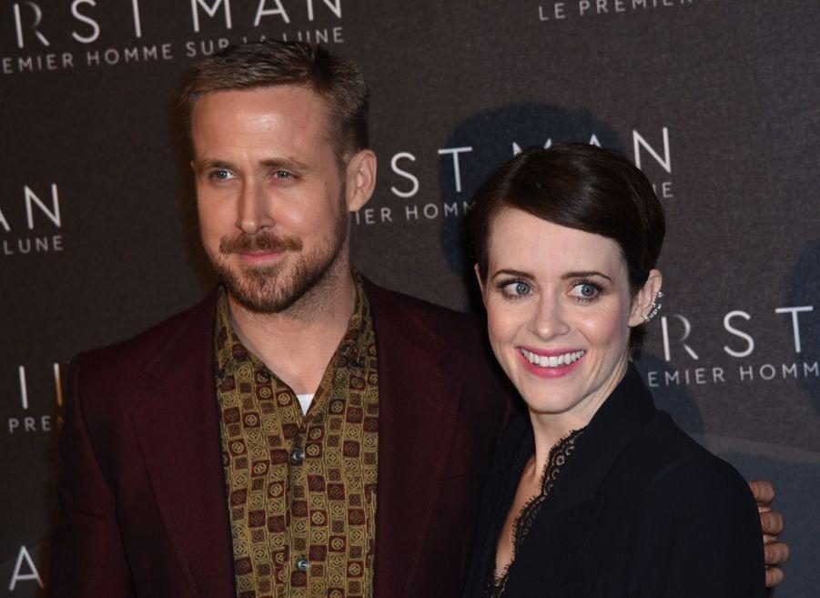 Ryan Gosling et Claire Foy