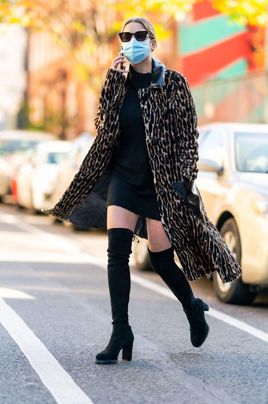 Ashley Bensonà New York le 19 novembre 2020