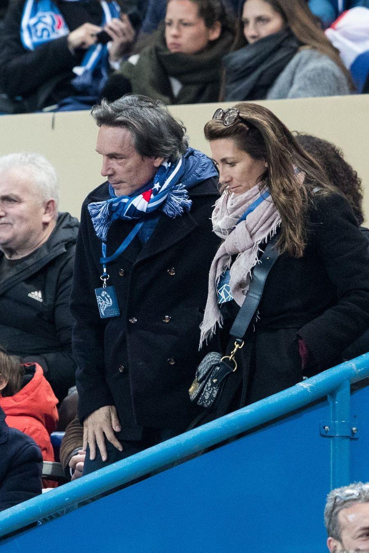 Anne-Claire Coudray et son compagnon Nicolas Vix