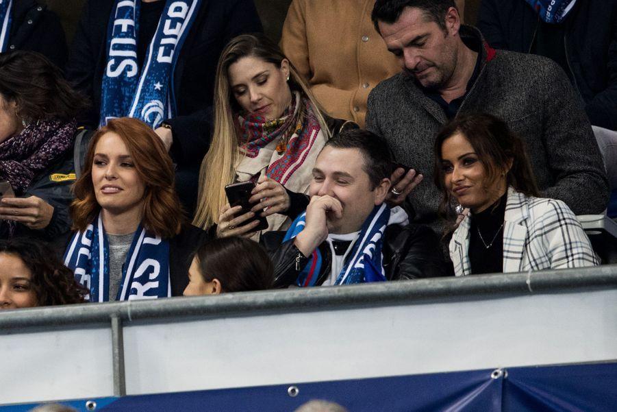Arnaud Ducret et sa compagne Claire Francisci, Maëva Coucke et Malika Ménard