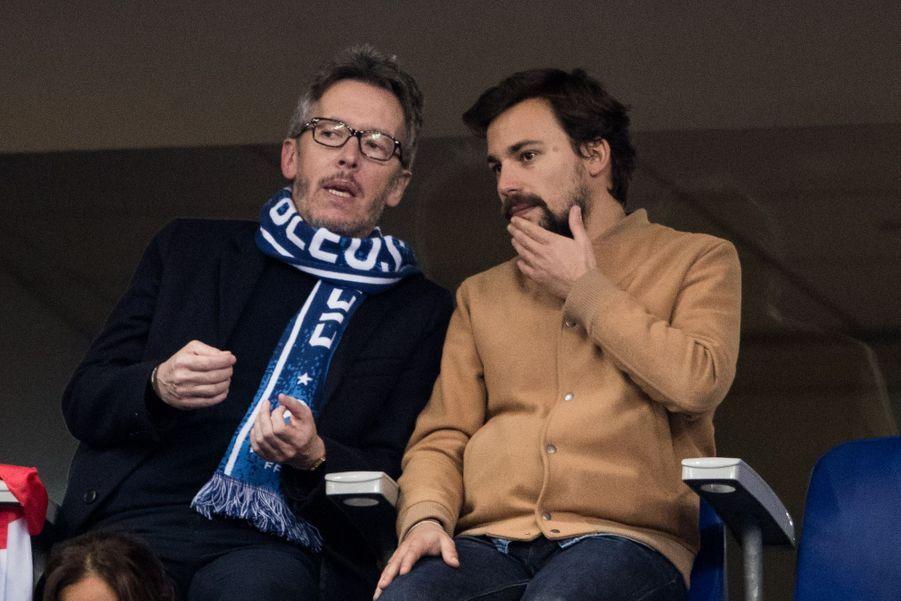 Jean-Luc Lemoine et Bertrand Chameroy