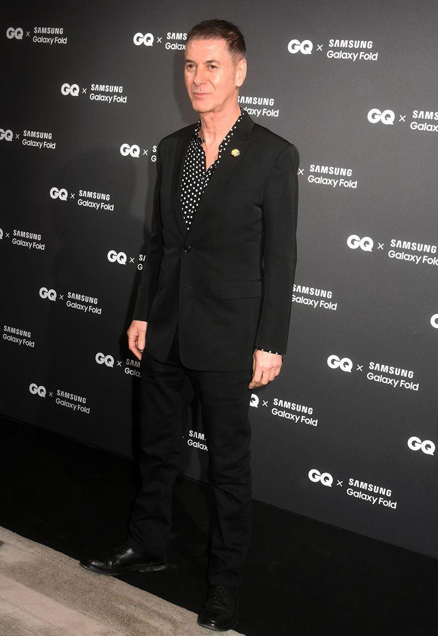 Etienne Dahoà la remise des GQ Awards pour les femmes et les hommes de l'année 2019, à l'hôtel de Crillon à Paris, le 26 novembre 2019.