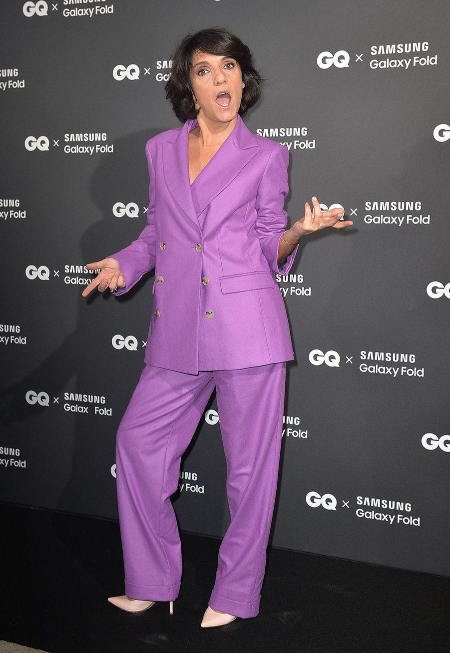 Florence Forestià la remise des GQ Awards pour les femmes et les hommes de l'année 2019, à l'hôtel de Crillon à Paris, le 26 novembre 2019.
