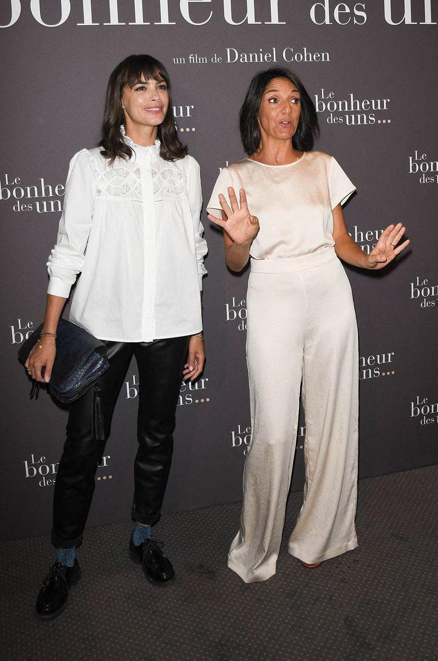 Bérénice Béjo et Florence Forestià l'avant-première du film «Le Bonheur des uns...» au cinéma Pathé Opéra Premier à Paris, le 8 septembre 2020