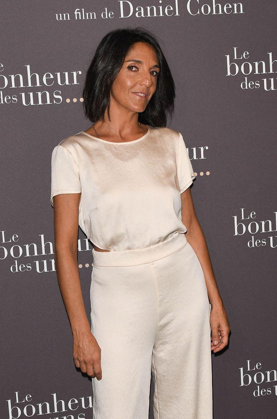 Florence Forestià l'avant-première du film «Le Bonheur des uns...» au cinéma Pathé Opéra Premier à Paris, le 8 septembre 2020