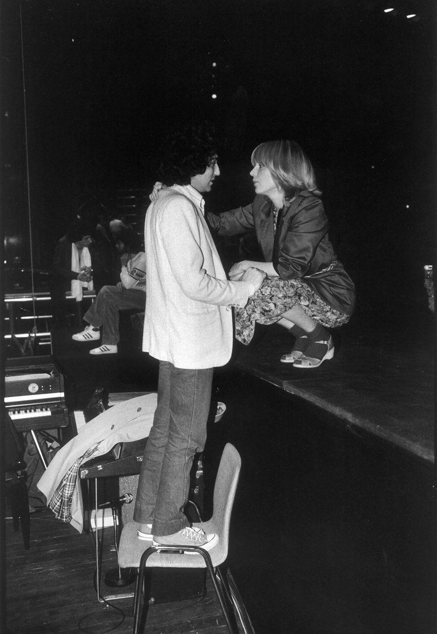 Michel Berger et France Gall en 1979