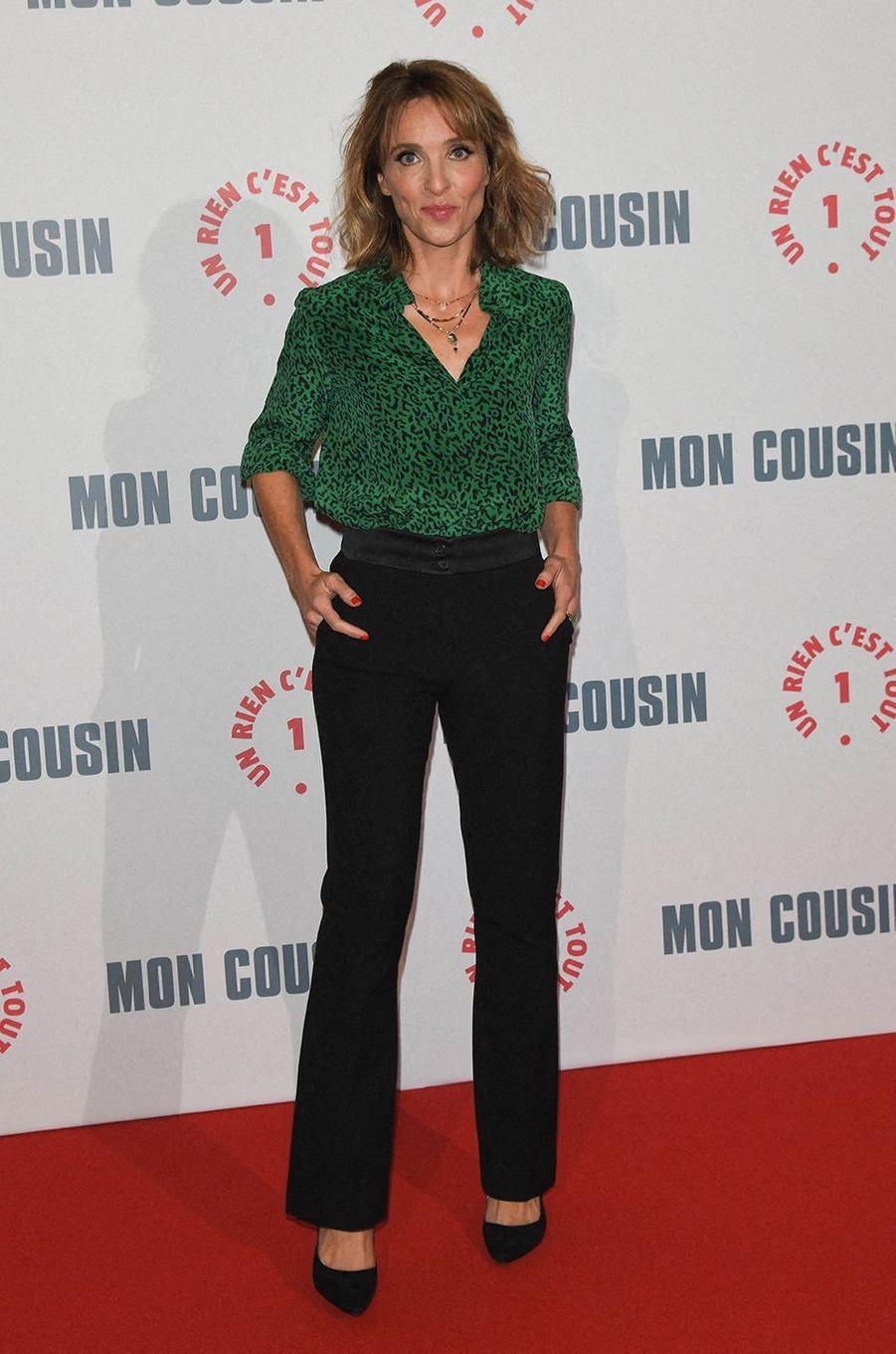 Alix Poissonà l'avant-première du film«Mon Cousin» au Grand Rex à Paris le 28 septembre 2020