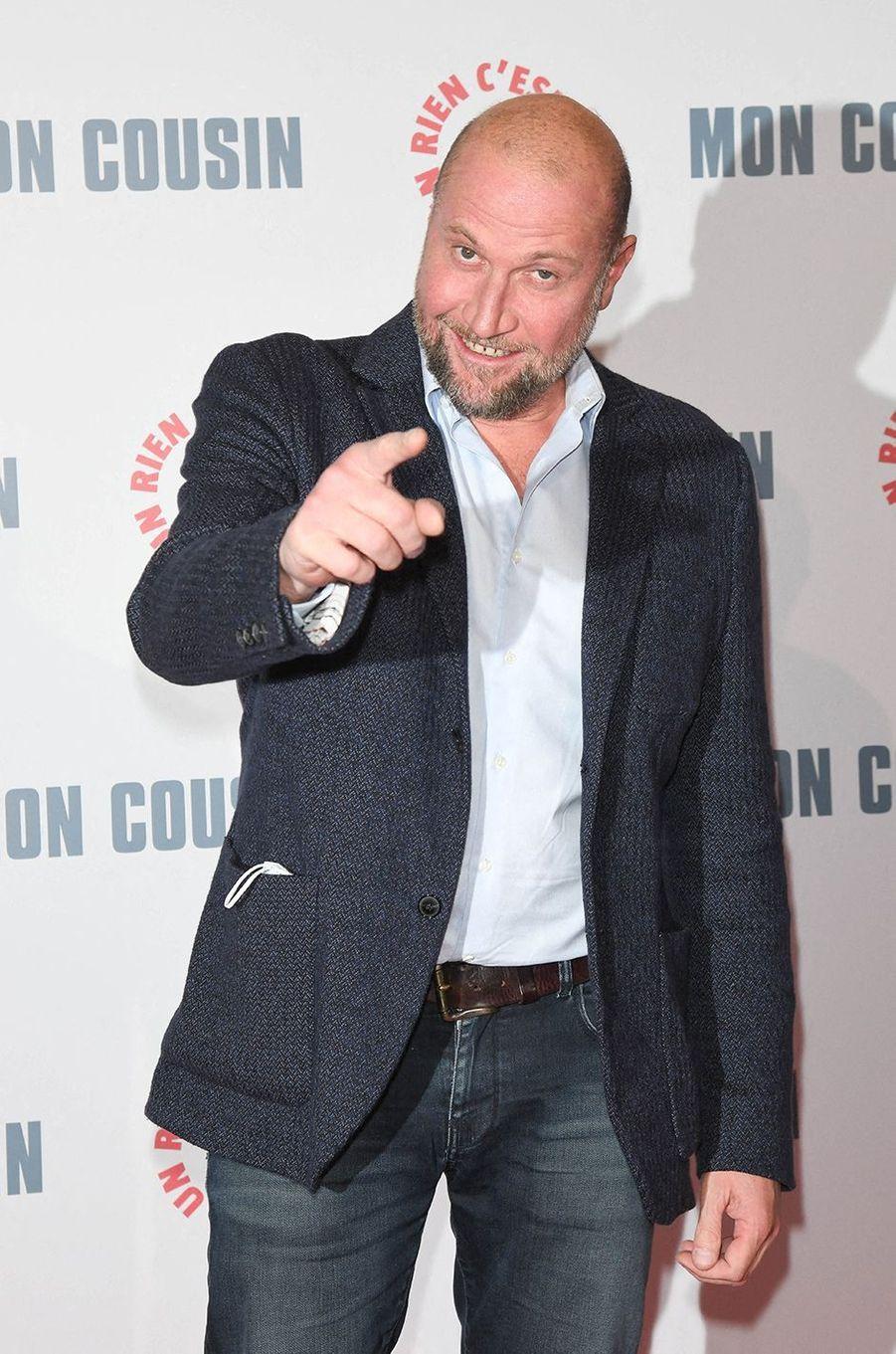 François Damiensà l'avant-première du film«Mon Cousin» au Grand Rex à Paris le 28 septembre 2020