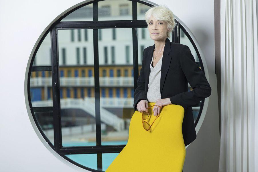 Françoise Hardy pose pour Paris Match, février 2015.