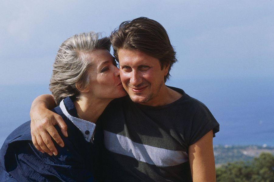 Jacques Dutronc et Françoise Hardy en Corse.